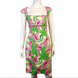 Lilly Pulitzer | Floral Fitted Dress